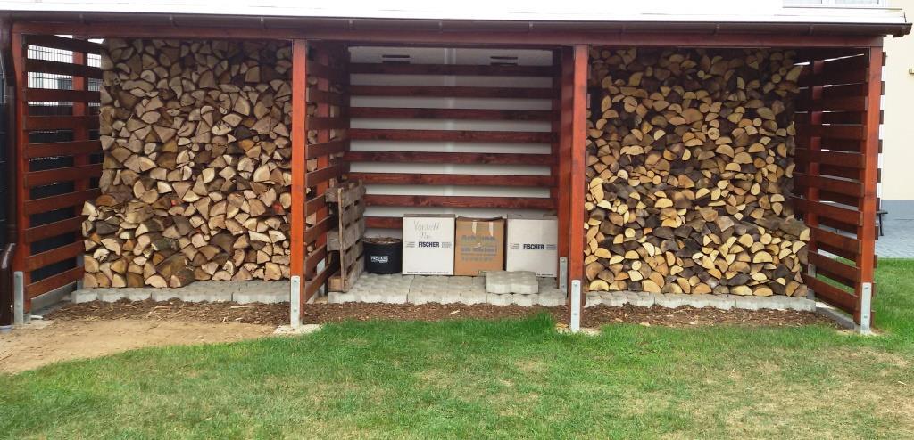 Gut bekannt Einen stabilen Brennholzunterstand (Brennholzschuppen) gut und NF68